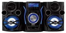 BBK AMS110BT черный/темно-синий 120Вт/CD/CDRW/FM/USB/BT