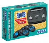 Sega Magistr Drive 2 Little черный в комплекте: 98 игр